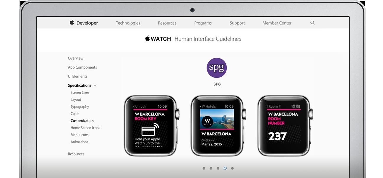 SPG App for Apple Watch | Stephen Gates - Executive Creative